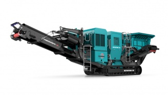 Powerscreen mobile Brechanlage Metrotrak